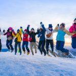 若者登山者30人日本全国から大集合!みんなで冬の大山合宿